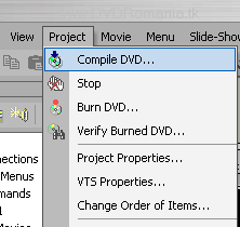 Compile DVD…